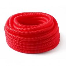 Гофра красная Henco 32мм. для труб 20мм. 50-MR20