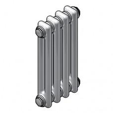 Стальной двухтрубчатый радиатор Zehnder Charleston 177x62x46мм. 2019