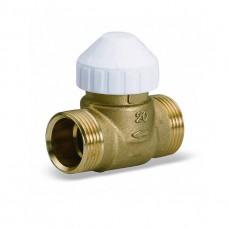 """Клапан двухходовой зональный Watts 1/2"""" НР-НР 10004128"""