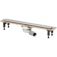 Лоток душевой Advantix Visign VIEGA ER13 с решеткой под плитку 1000 мм нерж.сталь