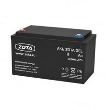 Аккумуляторная батарея ZOTA GEL 65-12, 65 А*ч 12 В