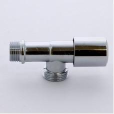 """Вентиль удлиненный для стиральных машин хромированный ITAP 1/2""""х3/4"""""""