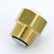 """Клапан для монтажа/демонтажа воздухоотводчика Emmeti 1/2"""" ВР-НР 00402100"""