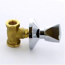 """Кран вентильный ВВ для скрытой подводки с хромированным вентилем ITAP 1/2"""""""