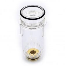 """Колба пластиковая для фильтра с манометром TIEMME 1""""1/4-1"""