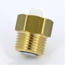 """Клапан для монтажа/демонтажа воздухоотводчика Emmeti 1/2""""x3/8"""" ВР-НР 00402080"""