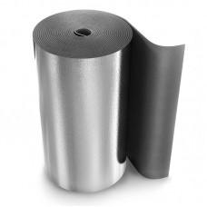 Рулон теплоизоляционный Energoflex Super AL с покрытием алюминиевой фольгой ROLS ISOMARKET 3мм х 1м х 30м