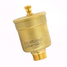 "Автоматический воздухоотводчик для гелиосистем Watts Minivent MV-SOL 1/2"" НР. 10004915"