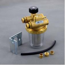 """Фильтр дизельного топлива двухтрубный с байпасом Watts RGZ-N 3/8"""" ВР-НР 10001958"""