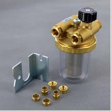 """Фильтр дизельного топлива двухтрубный Watts RGN 3/8"""" ВР-НР 10001930"""