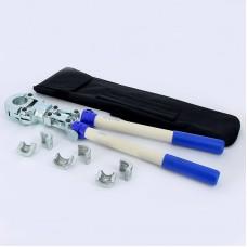 Пресс-устройство ручное Henco M-BH с насадками 16,20,26мм. M-BH162026