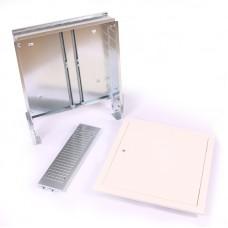 Шкаф коллекторный металлический встраиваемый EMMETI 740х630х110-160