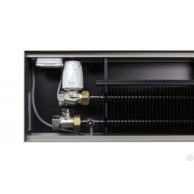 Внутрипольный конвектор с естественной конвекцией Mohlenhoff WSK 1000x180x90мм. WSK 180-090-1000